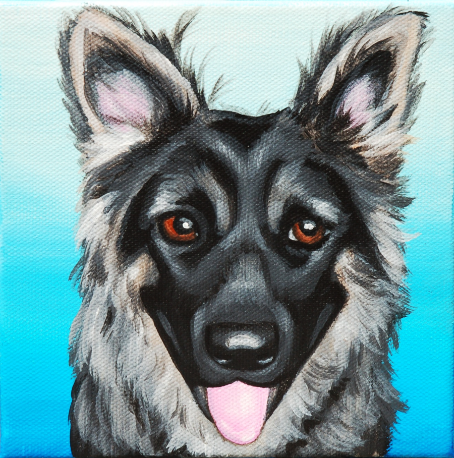 german shepherd custom pet painting.png