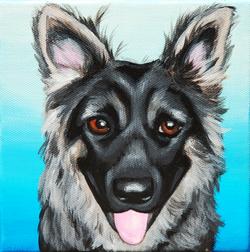 german shepherd custom pet painting.png