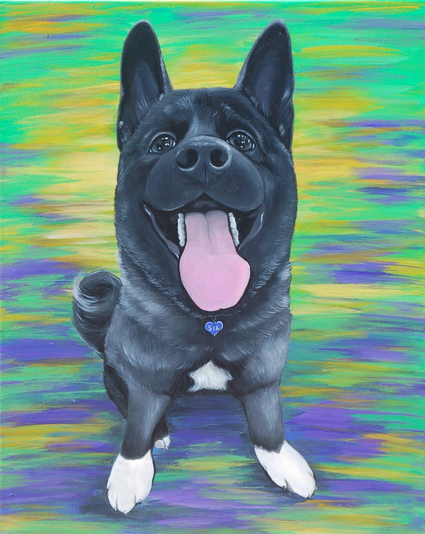 Sia Custom Pet Painting