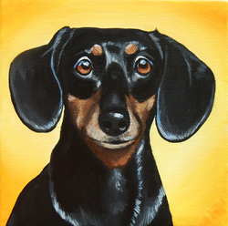 black doxie painting.png