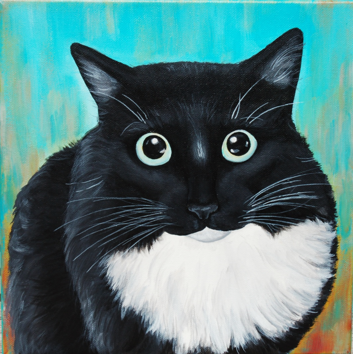 justice the tuxedo cat custom pet painting.png