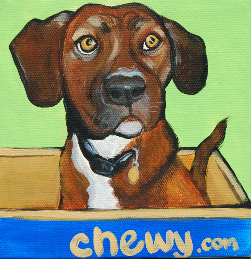 cute puppy painting chewy box.png
