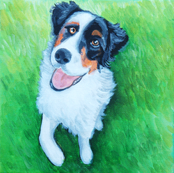 dog playing in grass painting.png