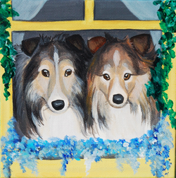 shelties in flower house painting.png