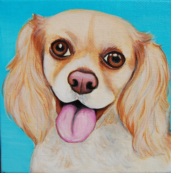 cocker spaniel custom pet portrait painting.png