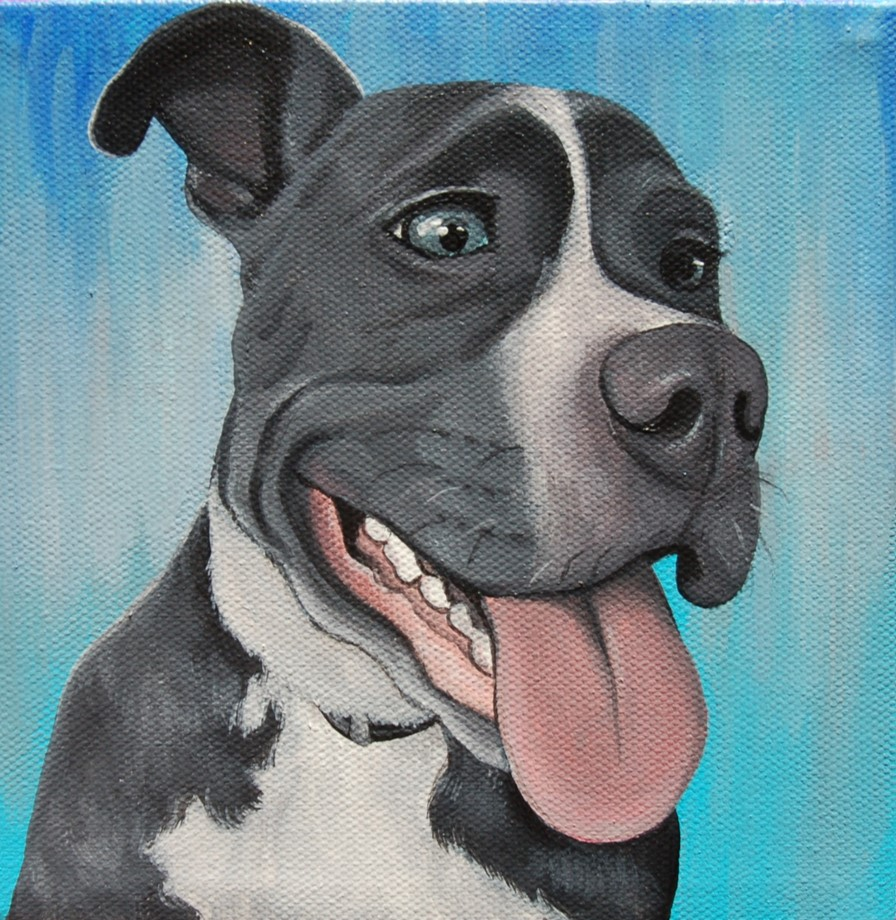 blue nose pitbull custom pet portrait painting.jpg