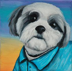 shih tzu painting portrait wearing shirt painting.png
