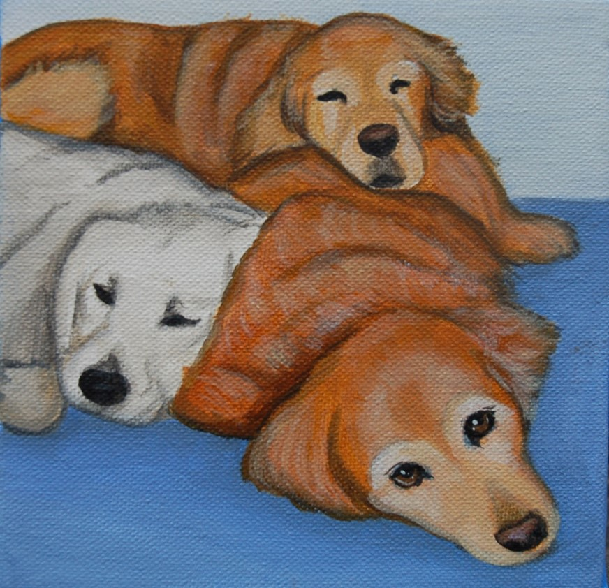 three golden retrievers painting.jpg