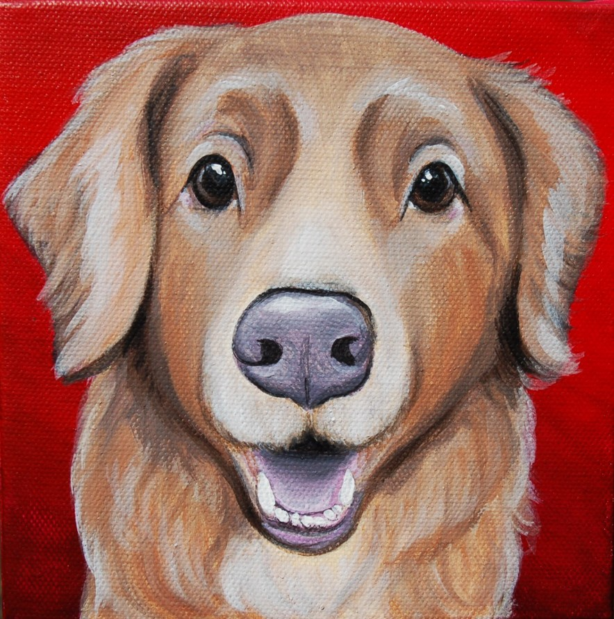 older golden retriever painting.jpg