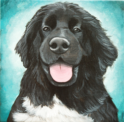 Happy black dog painting.png