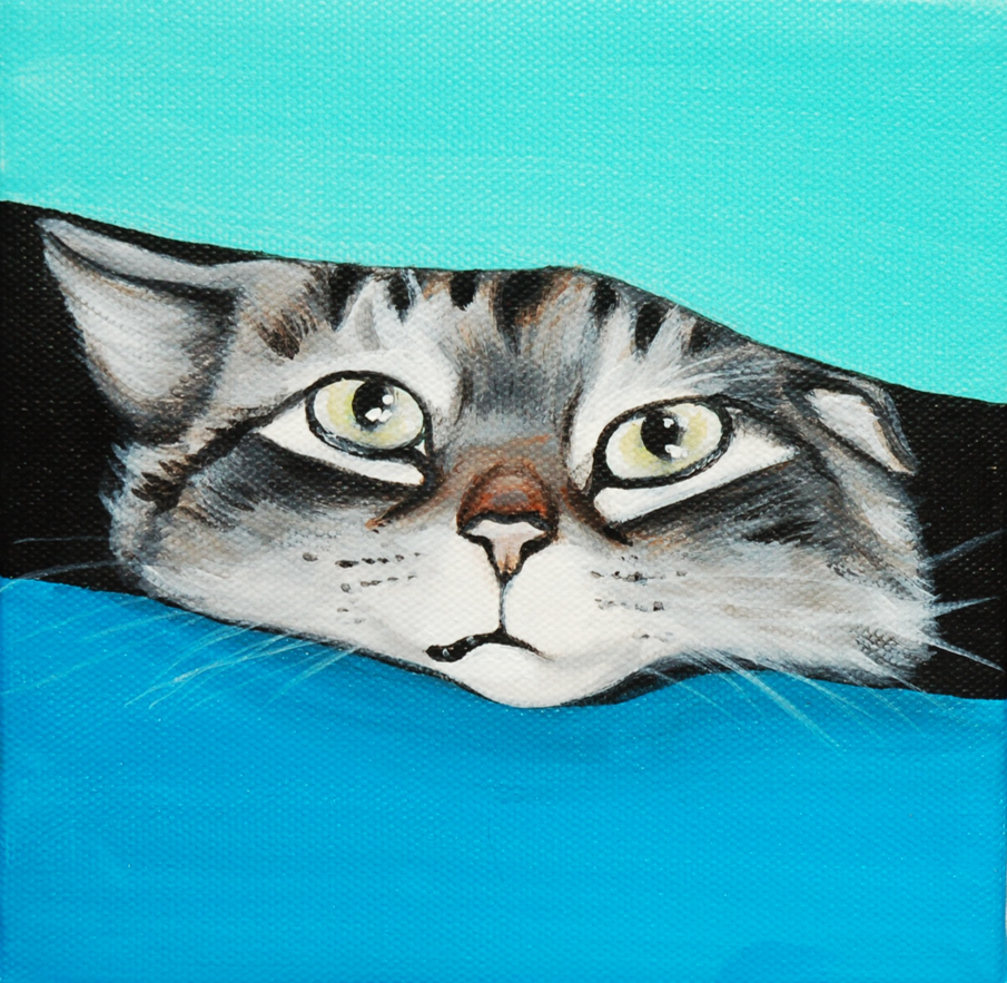 squished cat cute pet portrait painting on canvas.png