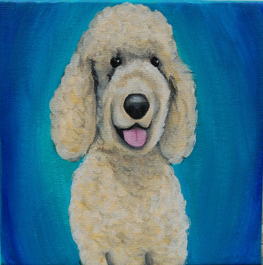 bright poodle painting chewy lauren hammack.jpg