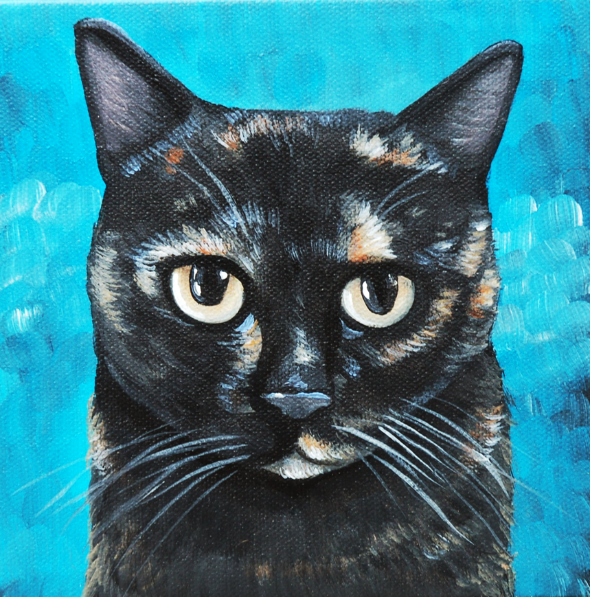 black calico painting chewy