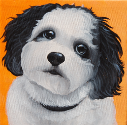 bklack and white dog painting.png
