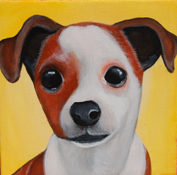cute puppy painting adorable.png