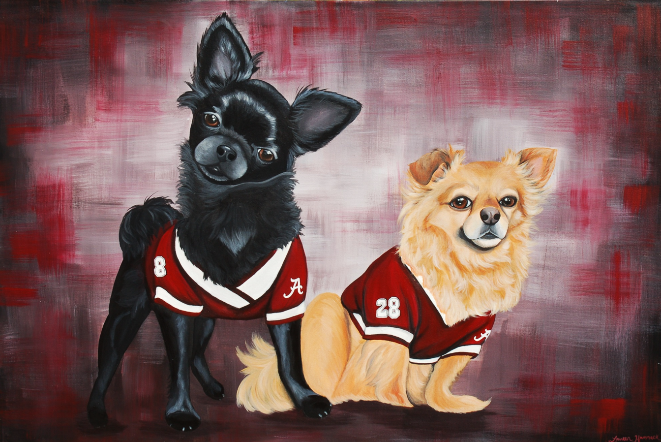 b99c14903b8a Off The Wall Paintings | Hand-Painted, Custom Pet Portraits