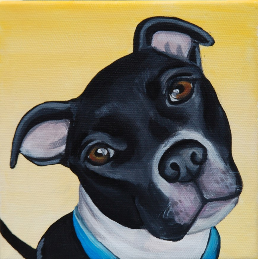 cute black pitbull painting.jpg