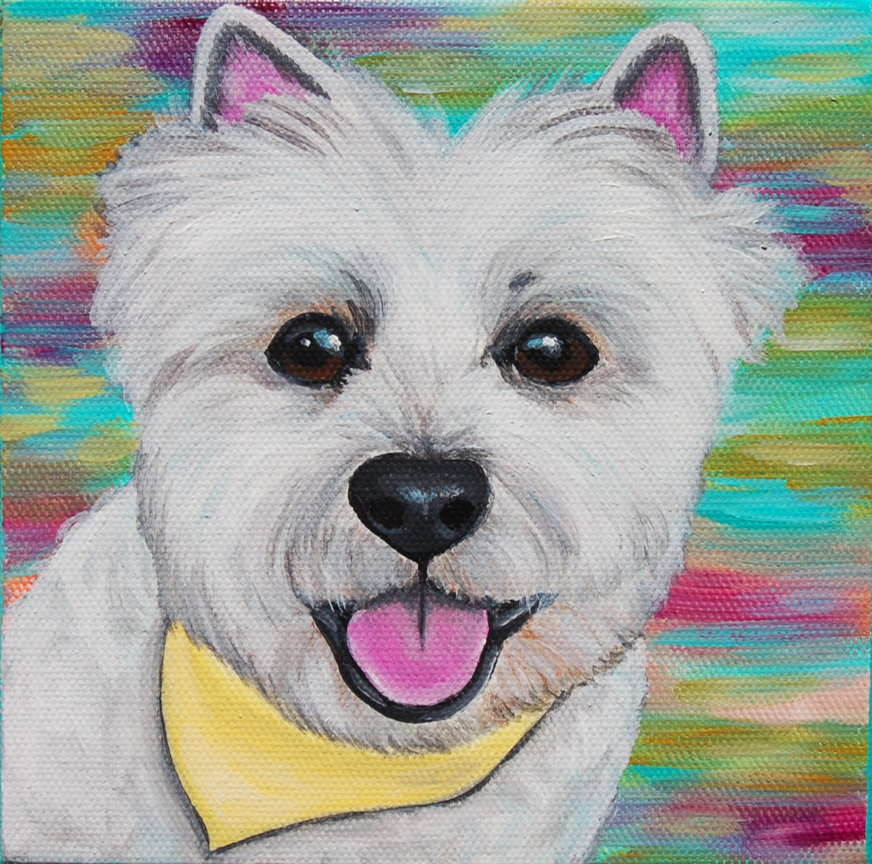 cute westie custom pet portrait painting.png