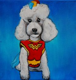wonder woman poodle painting.png