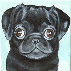 paddington pug brother syd painting.png