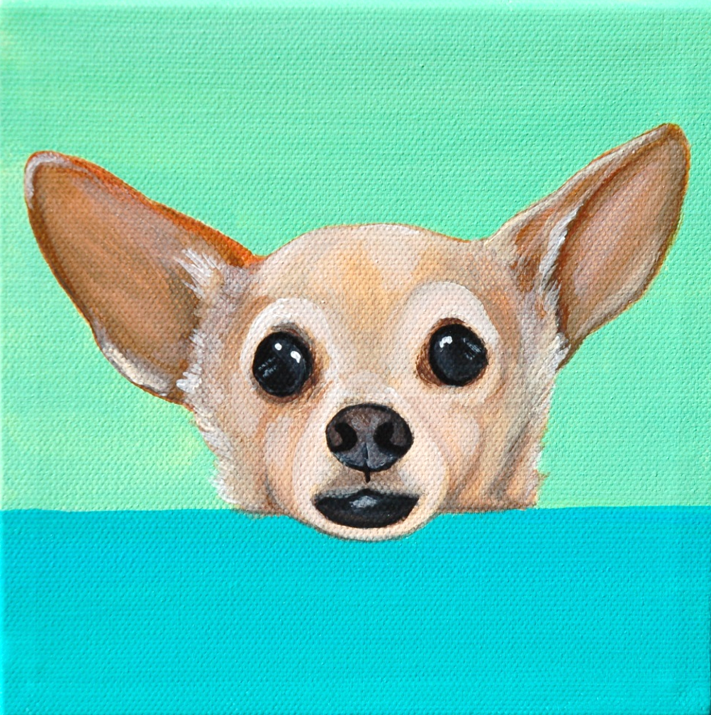 cute chihuahua peeking painting.png