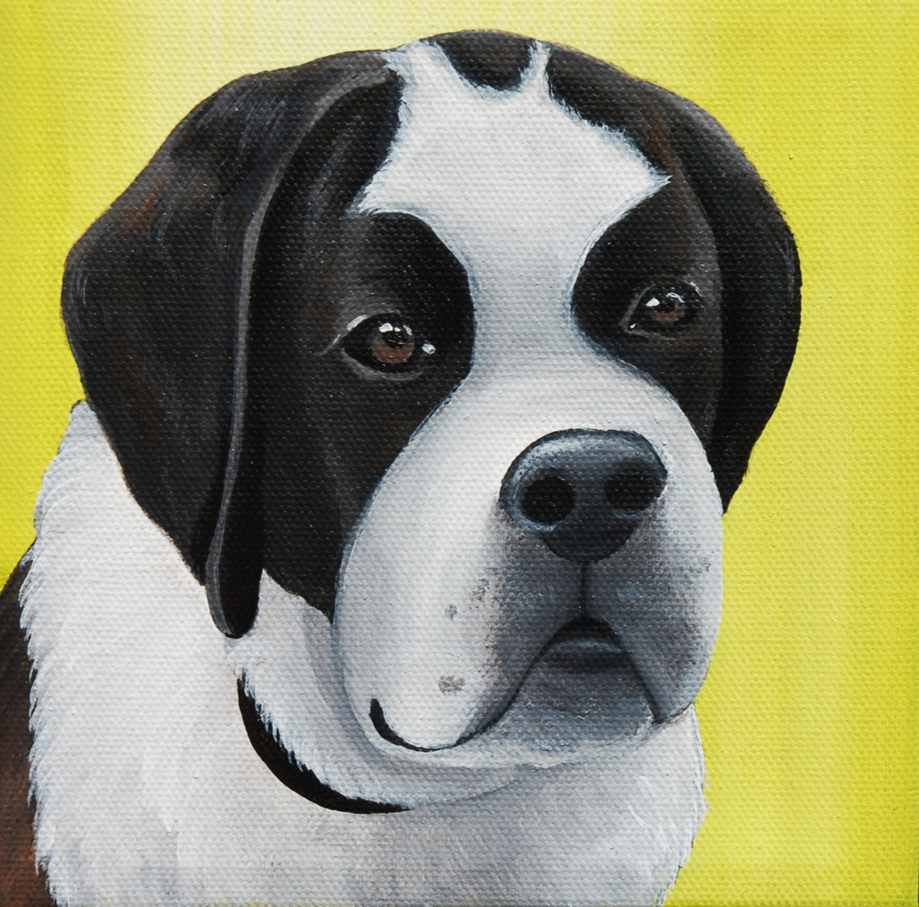 St Bernard painting on canvas.png