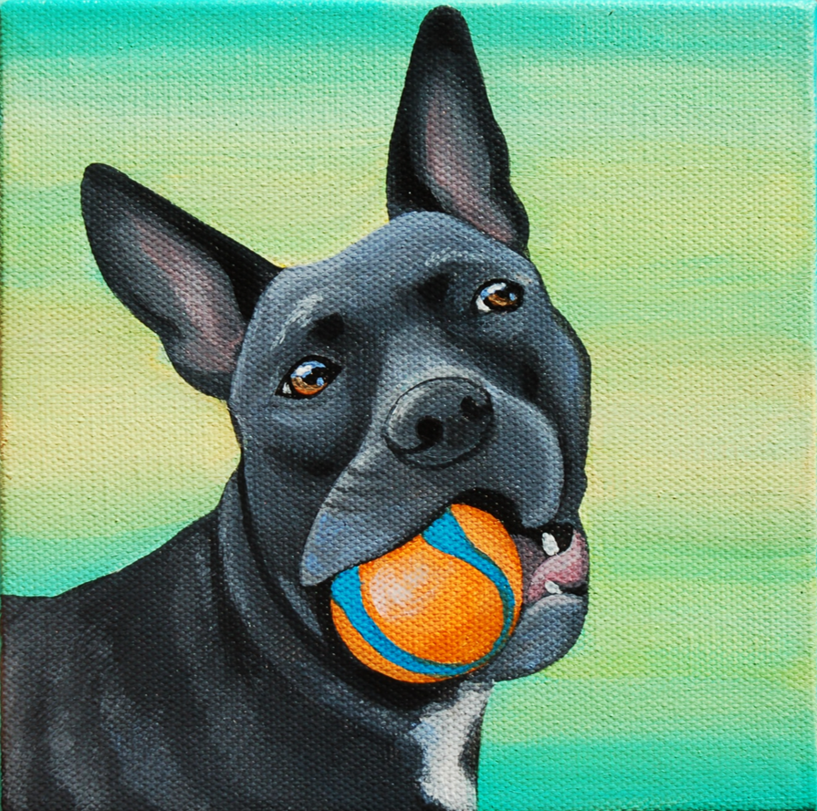 frenchy pitbull mix custom pet painting.png
