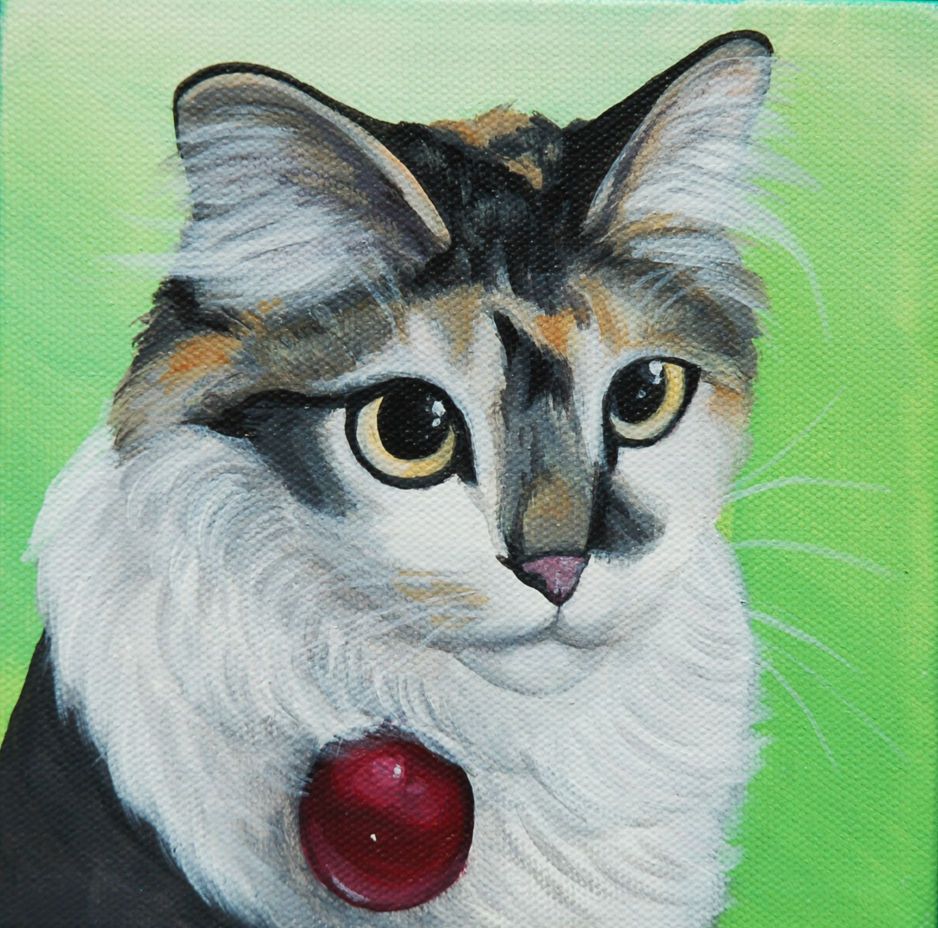 cute kitten custom painting on canvas.png