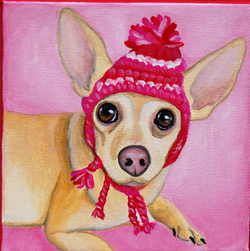 chihuahua portrait painting wearing hat.png