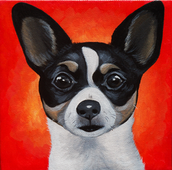 cute chihuahua painting for chewy red.png