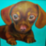 painting of the cutest puppy ever, cute puppy painting, painting of puppy, adorable puppy, painting of dogs, pet paintings, best pet painting artist, unique gift ideas