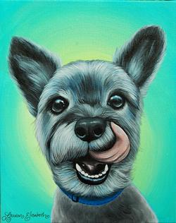 Winston Custom Pet Painting