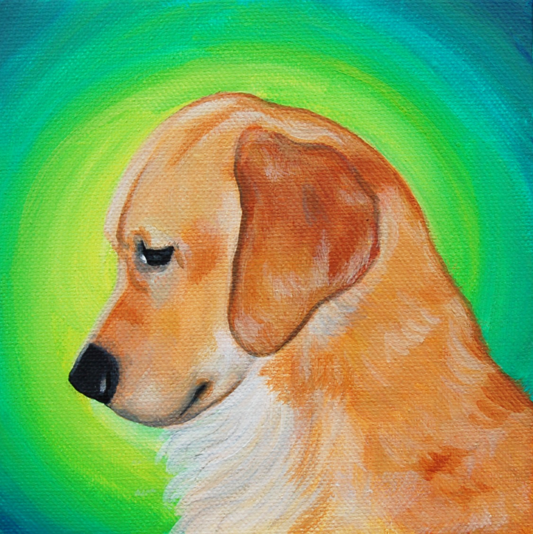 golden retriever painting looking down.png