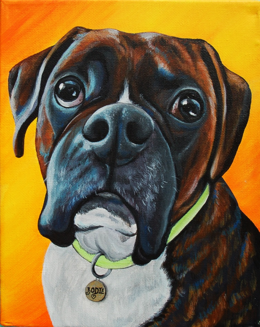 bodie the boxer custom pet portrait painting memorial.png