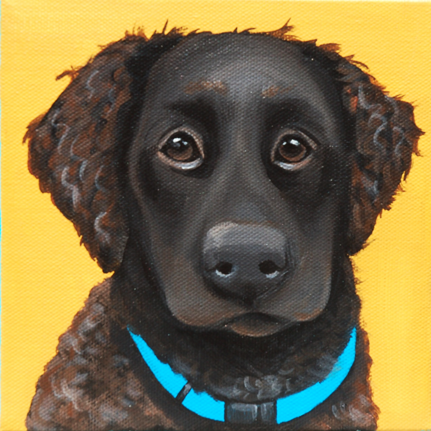 english springer spaniel lab painting.png