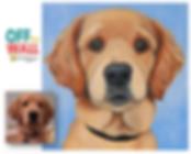 custom pet portrait, pet portrait, pet paintings, gift ideas, colorful dog paintings, custom pet paintings, los angeles, atlanta artist, pet portrait artist, lauren hammack, off the wall paintings, cute dog paintings, custom dog art from photos