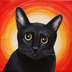 black cat painting yellow eyes.png