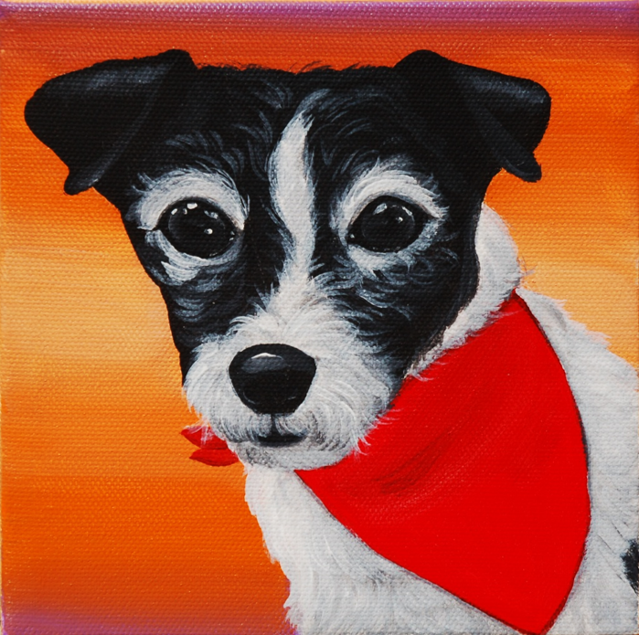 Little scruffy jack russell painting.png