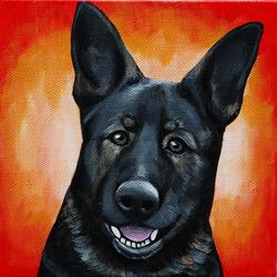 black grey german shepherd painting.png