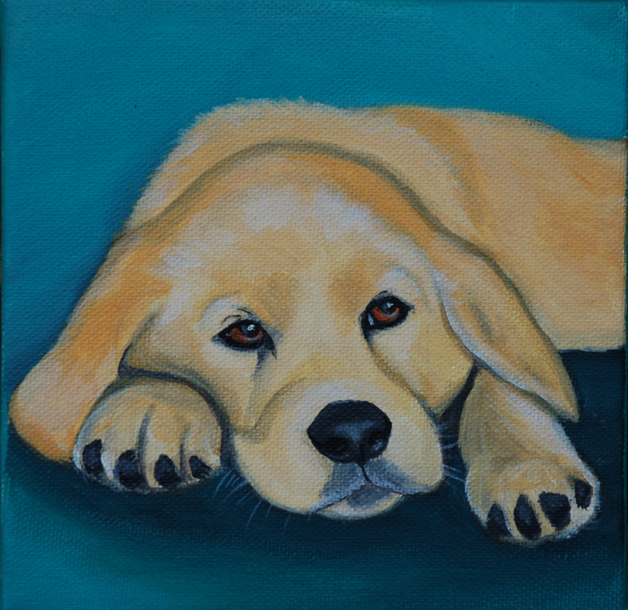 golden retriever puppy painting.png