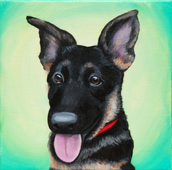 adorable german shepherd painting on canvas.png