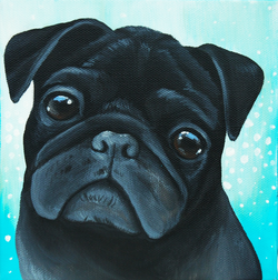 Custom pet painting of a pug.png