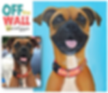 custom pet paintings, colorful pet portraits, pet portrait, boxer dog painting, paint my pet, animal art, cool gift ideas, beautiful boxer, custom art, atlanta, unique gift for animal lover, affordable pet paintings, best pet portraits, lauren hammack