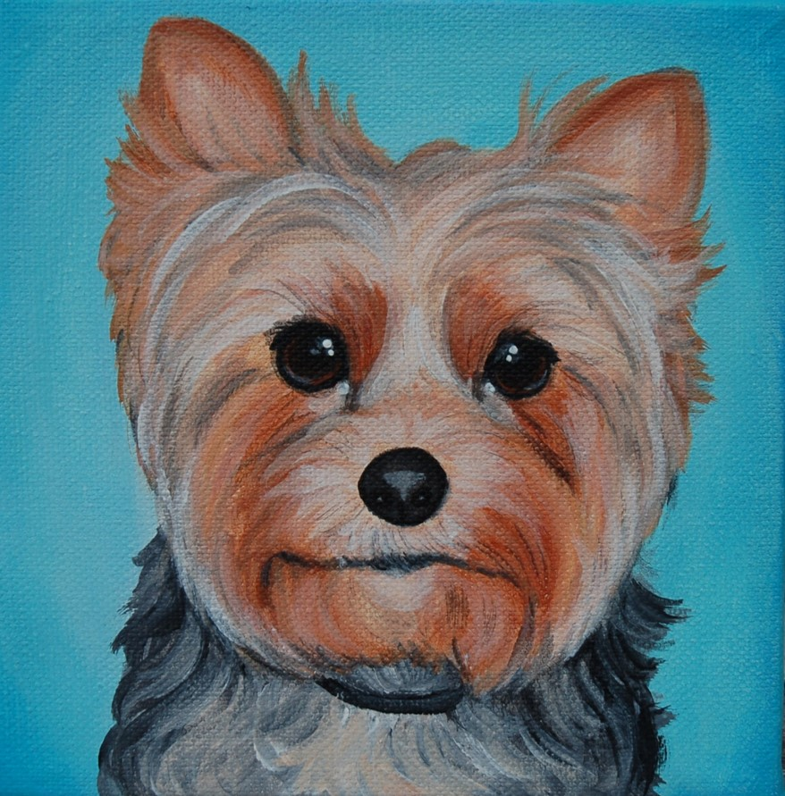 yorkie painting on canvas yorkshire terrier portrait.jpg