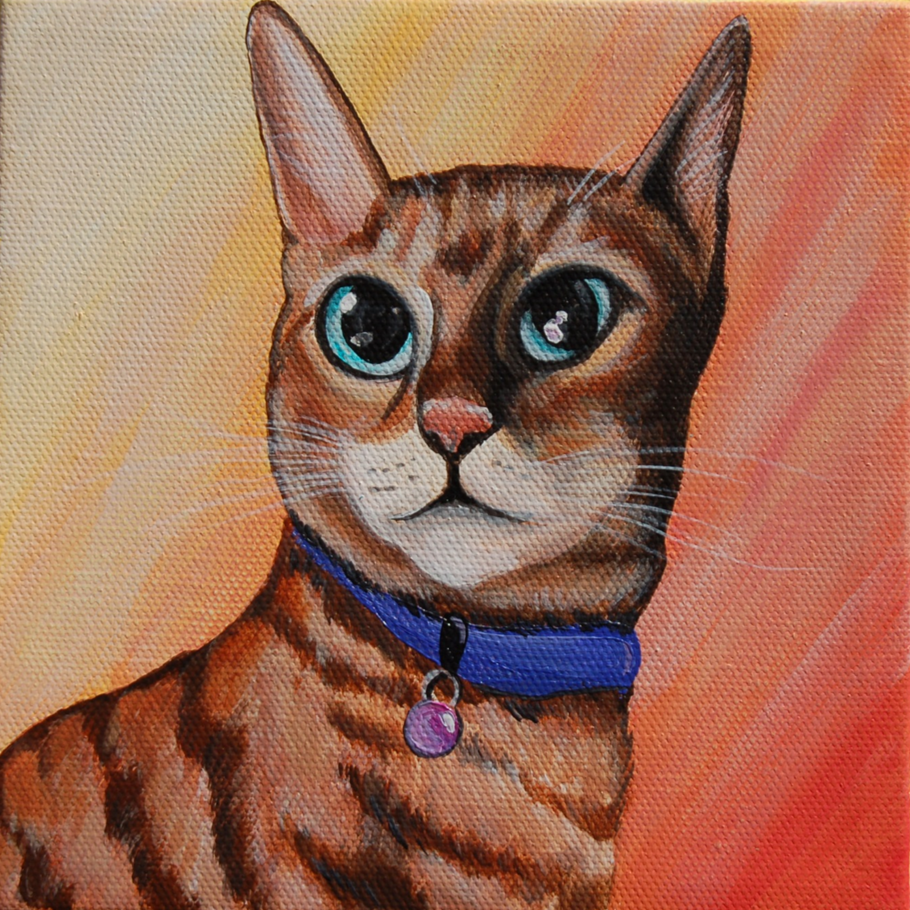 gorgeous cat portrait painting on canvas.png
