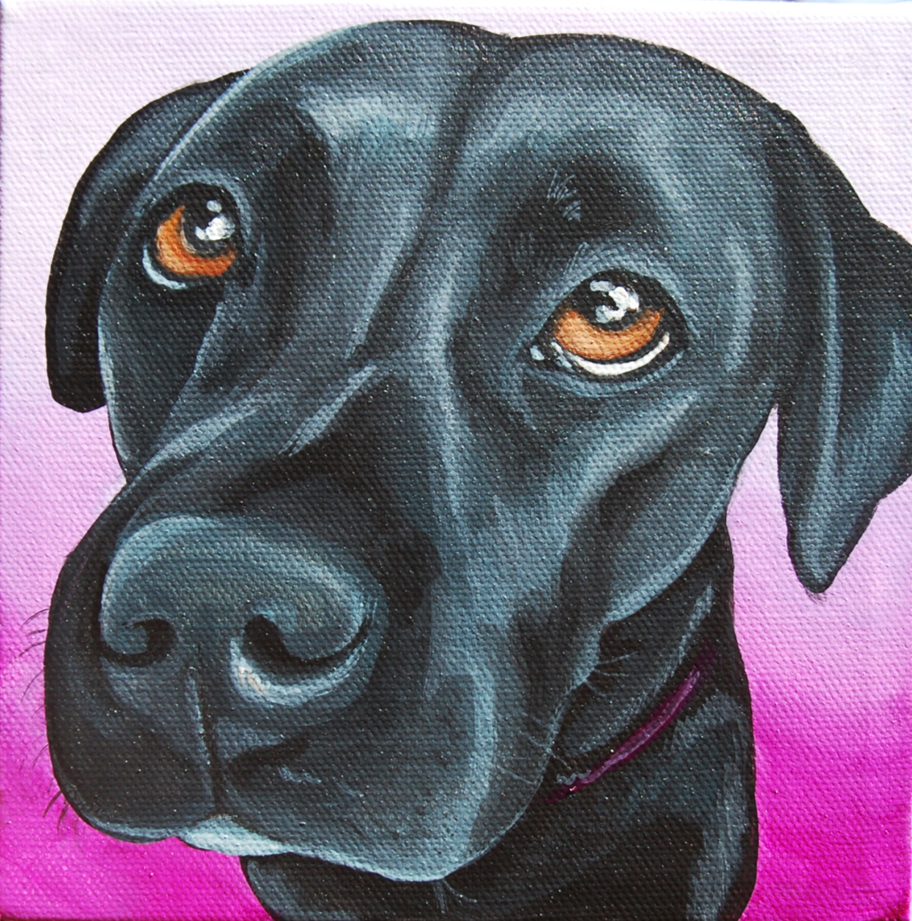 beautiful black lab portrait painting.png