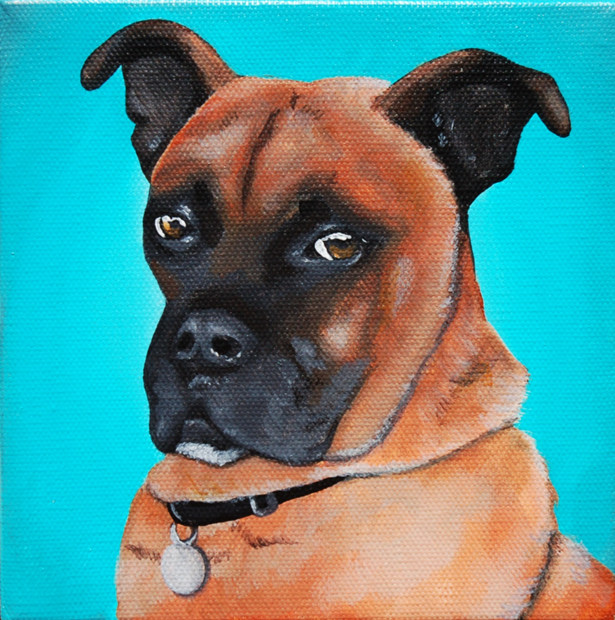 boxer mix custom pet portrait painting.png