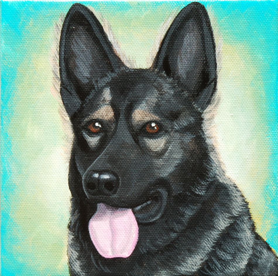 german shepherd custom pet painting canvas.png