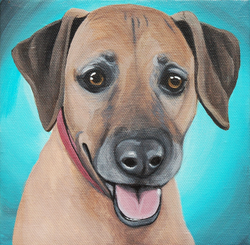 cute houns painting on canvas.png