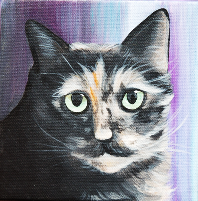 pretty kitty painting chewy